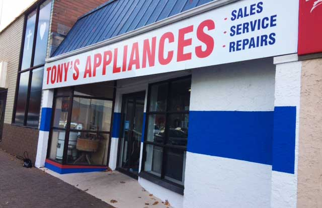 tonys appliances